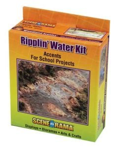 Woodland Scenics SP4122 Ripplin Water Diorama - Realistic Water