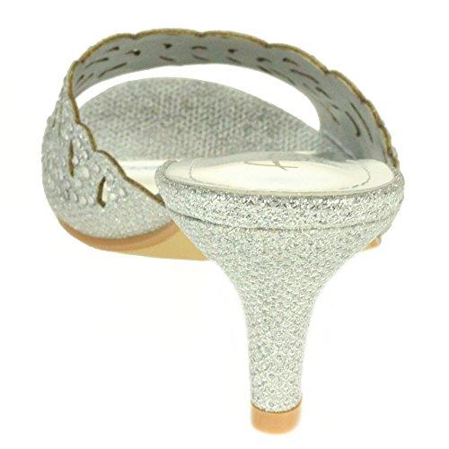 Dames Cristal Diamante Mariage Soir Femmes F FqYvwF