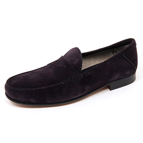 Loafer D0040 Man Marrone Tod's tende blu Scuro Scuro Blu Mocassino Uomo Che Scarpa Shoe fwgpq6