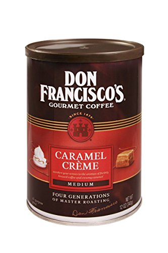 Don Francisco's Caramel Crème Flavored Coffee, 12-Ounce Can (3-Count)