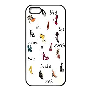 Fashion shoes Design Unique Customized Hard Case Cover for iPhone 5,5S, Fashion shoes iPhone 5,5S Cover Case