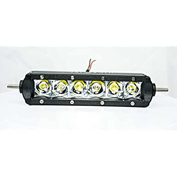 Amazon Com Single Row Led Light Bar 6 Inch Led Bar