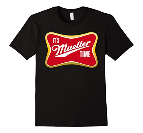 It's Mueller Time T-Shirt Anti Trump Campaign Tee