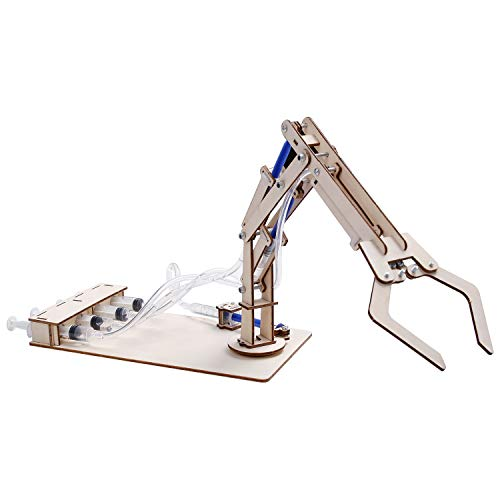 Hydraulic Crane kit, S.T.E.M., S.T.E.A.M. Educational Engineering Toy