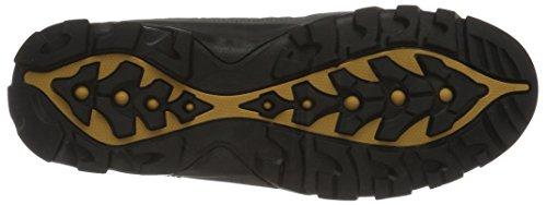KangaROOS K-trekking 3008m Ii - Zapatos Hombre Grau (Dk Grey/Wheat)
