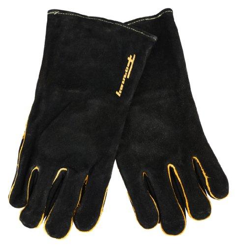 Forney 53425 Black Leather Men's Welding Gloves, Large (Gloves Purpose Welding)