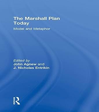 The marshall plan today model and metaphor - The marshall plan was designed to ...