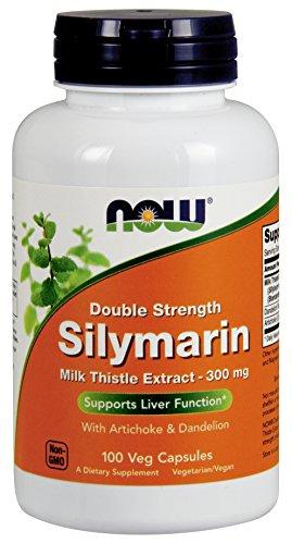 NOW Silymarin 2X - 300 mg,100 Veg Capsules