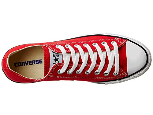 All Charcoal US Men's Converse 7 10 Men's Chuck Sneaker Taylor MEN 5 5 8 Core RED Star 5 Ox WOMEN US qwq0t6dn