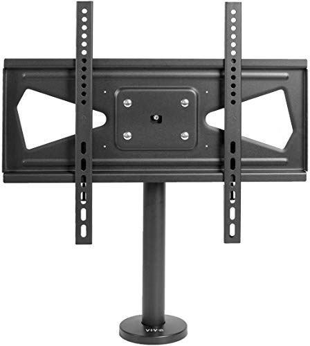 VIVO Swivel Bolt-Down TV Stand for 32 to 55 inch Screens | Desktop VESA Mount | Sturdy Tabletop TV Display (STAND-TV00M4)