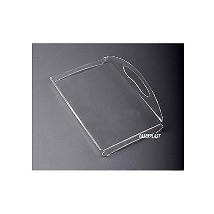 Faberplast Bandeja Amenities II, Metacrilato, 25x22x8 cm
