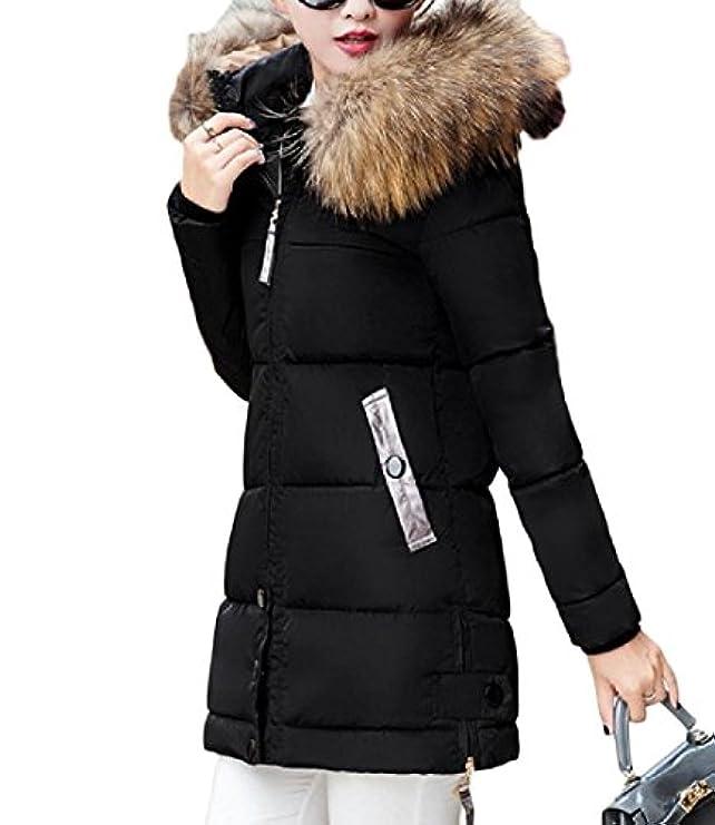 Size Lunghezza Con Sintetica Cappuccio Mezza Cappotto Sheng Pelliccia A Slim Xi Donna Plus Caldo In tnwv6Tqw