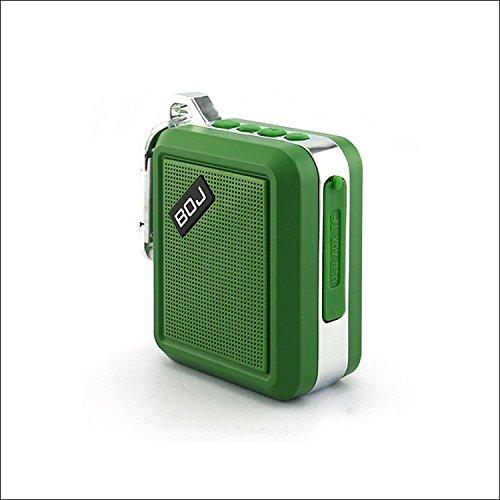 - Green Key Chain Mini Bluetooth Speaker. (Waterproof)