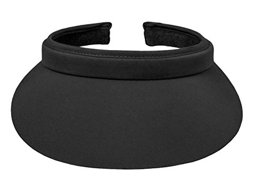 TopHeadwear Nylon Clip-On Visor, Black ()