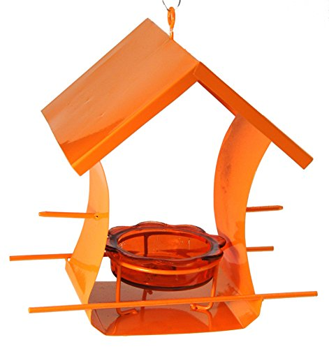 Jelly Oriole Feeder - Woodlink 35319 Metal House Oriole Feeder