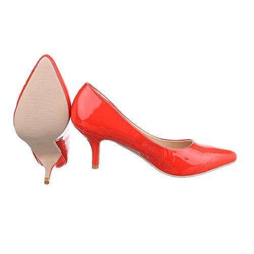 Ital-Design - Cerrado Mujer Rojo