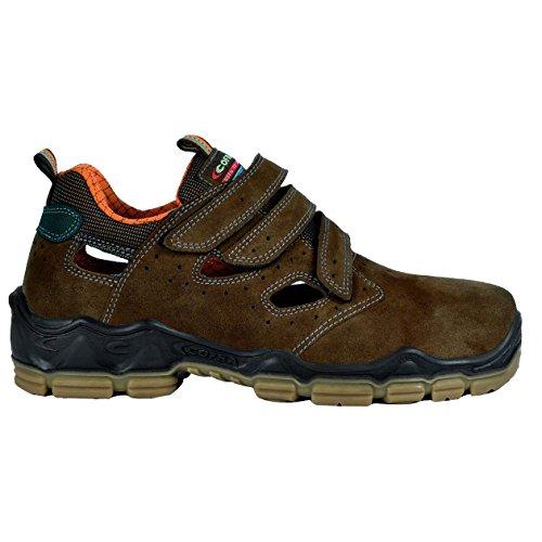 Cofra Mondrian S1 P SRC Paire de Chaussures de sécurité Taille 44 Marron