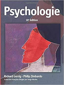 Amazon Fr Psychologie Richard J Gerrig Livres