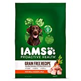 IAMS PROACTIVE HEALTH Adult Dry Dog Food Grain Fre...