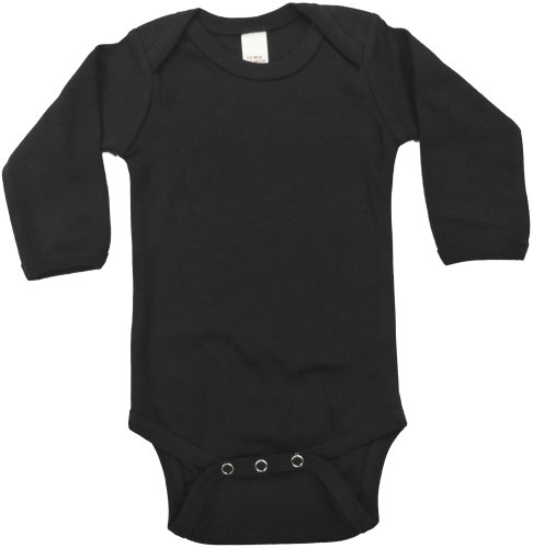 Black Baby Onesie - Long Sleeve]()