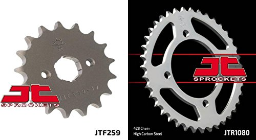 Front & Rear Sproket Kit for THUMPSTAR Pit Bikes All Models 100cc+ JT Sprockets
