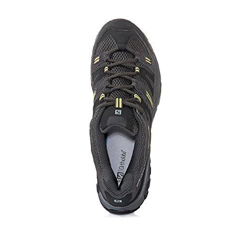 Salomon - Zapatillas de senderismo Sherbrooke para hombre, color negro, talla 11UK 46EU