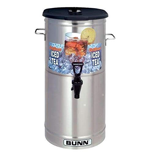 Tdo Tea Dispenser Iced 4 (Bunn 34100.0002 TDO-4 4 Gallon Iced Tea Dispenser with Brew-Through Lid TB3)