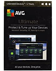 AVG Ultimate Internet Security & PC Tuneup Unlimited Devices 2 Year