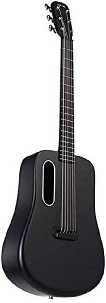 XBSD Guitarra acústica, Guitarra Natural de 6 Cuerdas, Fibra de Carbono Avanzada, excelente Guitarra, Adecuada para espectáculos, Fiestas, ensayos, etc.