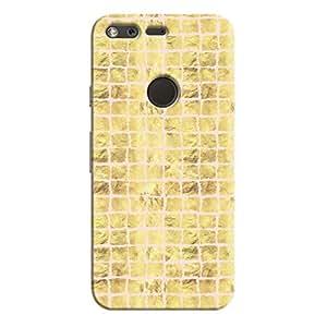 Cover It Up - Gold Pink Break Mosaic Pixel Hard Case
