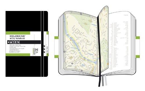Moleskine City Notebook - Wien (Vienna), Pocket, Black, Hard Cover (3.5 x 5.5) by Brand: Moleskine (Image #1)
