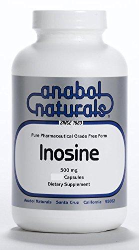 Anabol Naturals Inosine 960 Capsules 500 mg by Anabol Naturals