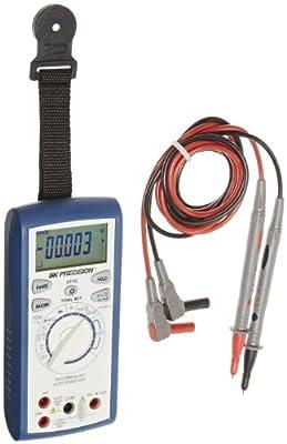 B&K Precision 2712 True RMS AC + DC Tool Kit Digital Multimeter, 165mm H x 78mm W x 42.5mm D
