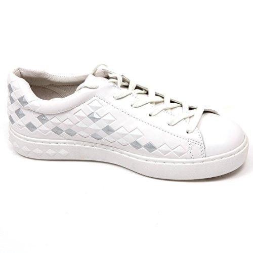 PANIS donna bianco sneaker C7648 scarpa shoe argento BIS ASH woman argento bianco qwtAAgp