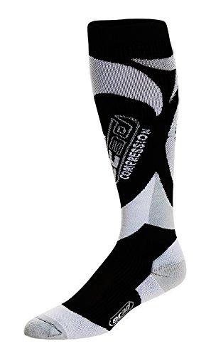 217379f24f EC3D Twist Compression Socks, Black/Grey/White, 4: Amazon.ca: Sports ...