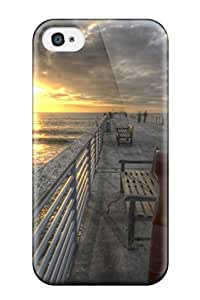 New Premium ThomasSFletcher Locations Hermosa Beach Nature Locations Skin Case Cover Excellent Fitted For Iphone 4/4s
