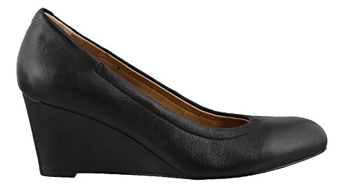 Vionic Camden Black with Black Orthaheel Leather Women's Technology Black BZBrUCwq