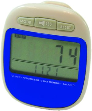 (Devine Medical Multifunction Talking Pedometer with Memory)