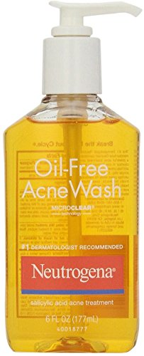 Neutrogena Oil-Free Acne Wash 6 oz (Pack of 8)