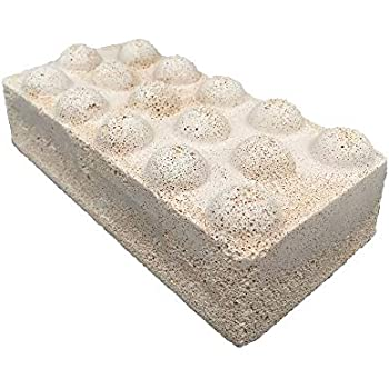 Brightwell Aquatics Xport NO3 Brick, ultra-activated denitrification brick media doped with elemental sulfur, for superior performance characteristics, 1 Brick, 9