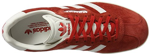 adidas Gazelle Super, Zapatillas para Hombre Rojo (Red/vintage White/gold Metallic)