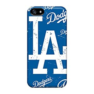 Iphone 5/5s Gpf2423GbDs Customized High Resolution Los Angeles Dodgers Skin High Quality Cell-phone Hard Covers -CassidyMunro
