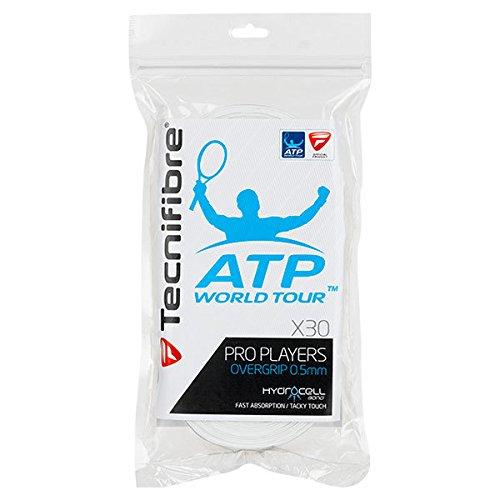Tecnifibre Players (Tecnifibre ATP Pro Players Overgrip 30 Pack White)