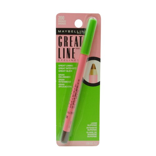 MAYBELLINE GREAT LINE EYELINER #200 BRONZE B003E6V3LW