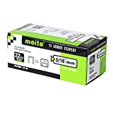 meite 22G71S316 22 Guage 71 Series 3/8-Inch Crown or C-Crown 3/16-Inch Leg Length Galvanized Fine Wire Staples (100,20 pcs/box) (1 Box Pack)