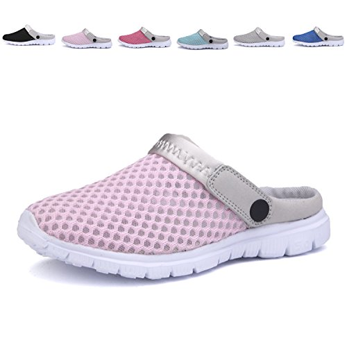 ANLUKE Women Summer Clog Shoes Breathable Slippers Loafer Garden Shoes Clog Beach Slip-on B0728JBFKM Shoes ff6cc0