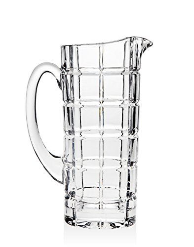 Godinger Radius Water Pitcher, Silver