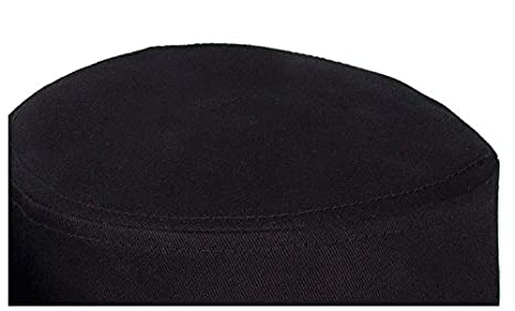Yusongirl Cadet Army Cap Military Style Hat Flat Top Adjustable Size Unisex (Black) at Amazon Mens Clothing store: