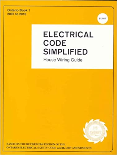 Electrical Code Simplified Ontario: 9780920312360: Amazon.com: Books