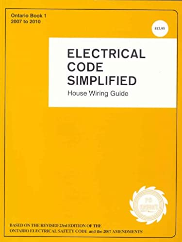 electrical code simplified ontario 9780920312360 amazon com books house wiring symbols house wiring ontario #23
